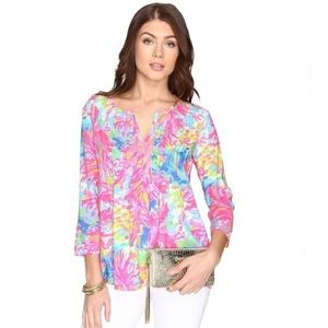 Lilly Pulitzer Daylen Tunic Size XL